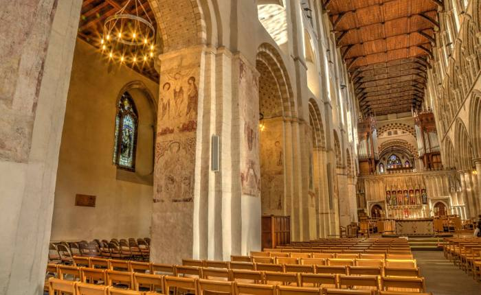 Turning Back Time: The Medieval Wall Paintings of St AlbansCathedral